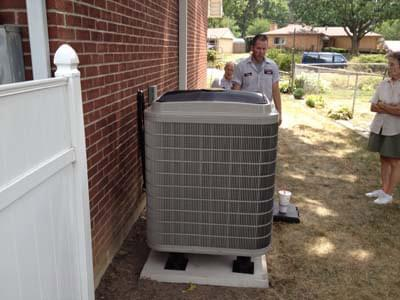 Bryant Heat Pump Installation