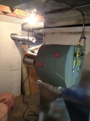 Flue Liner for Water Heater and a New Humidifier